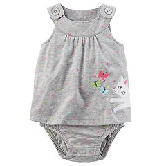 Baby Girl Carter's Kitty Sunsuit
