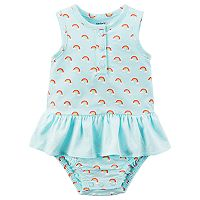 Baby Girl Carter's Rainbow Print Sunsuit