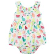Baby Girl Carter's Fruit Print Dress