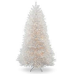 National Tree Company 6.5-ft. Pre-Lit Dunhill White Fir Artificial Christmas Tree