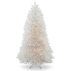 National Tree Company 7-ft. Pre-Lit Dunhill White Fir Artificial Christmas Tree