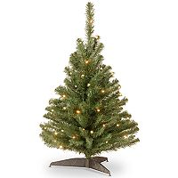 National Tree Company 3-ft. Clear Pre-Lit Kincaid Spruce Artificial Christmas Tree
