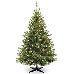 National Tree Company 6-ft. Clear Pre-Lit Kincaid Spruce Artificial Christmas Tree