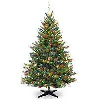 National Tree Company 6-ft. Multicolored Pre-Lit Kincaid Spruce Artificial Christmas Tree