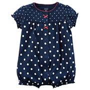 Baby Girl Carter's Polka-Dot Romper