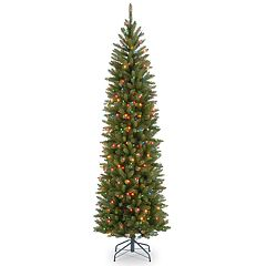National Tree Company 7-ft. Pre-Lit Kingswood Fir Pencil Artificial Christmas Tree