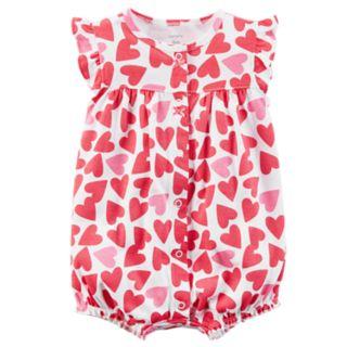 Baby Girl Carter's Heart Romper