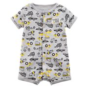 Baby Boy Carter's Construction Romper