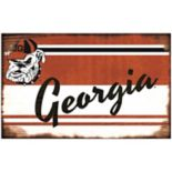 Georgia Bulldogs Heritage Wall Sign