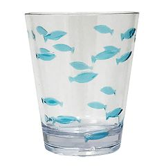 Celebrate Summer Together Acrylic Fish Double Old-Fashioned Glass
