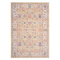 Safavieh Windsor Zara Framed Floral Rug