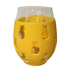 Celebrate Summer Together Pineapple Stemless Wine Glass
