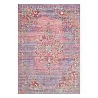 Safavieh Windsor Ziba Framed Floral Rug