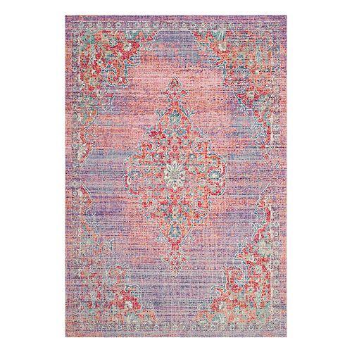 Safavieh Windsor Ziba Framed Floral Rug