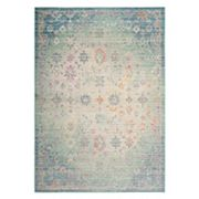 Safavieh Windsor Viviana Framed Floral Rug