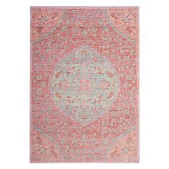 Safavieh Windsor Elysia Framed Floral Rug