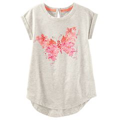 Girls 4-12 OshKosh B'gosh® Butterfly Graphic Tunic Top