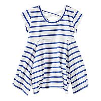 Girls 4-12 OshKosh B'gosh® Striped Handkerchief Hem Tunic Top