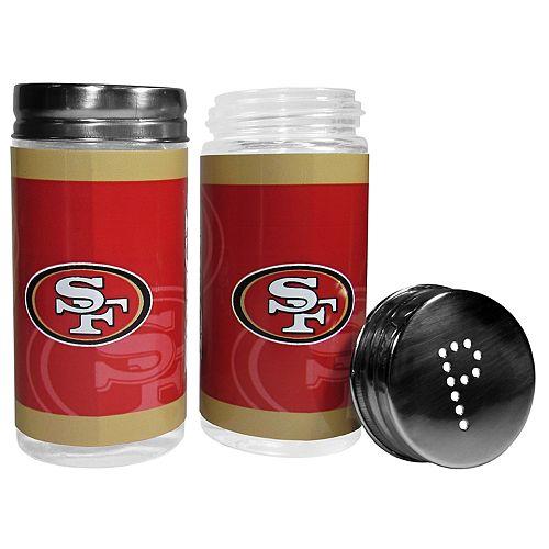 San Francisco 49ers Tailgate Salt & Pepper Shaker Set
