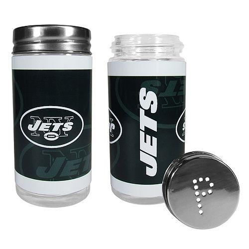 New York Jets Tailgate Salt & Pepper Shaker Set