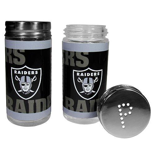 Oakland Raiders Tailgate Salt & Pepper Shaker Set