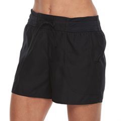 Women's Croft & Barrow® Tactel Drawstring Swim Shorts