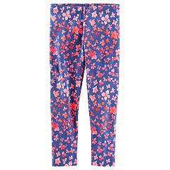 Girls 4-12 OshKosh B'gosh® Floral Print Leggings