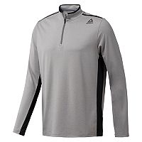 Men's Reebok Perforated 1/4-Zip Pullover