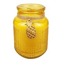 Hawkwood Island Pineapple 13.77-oz. Candle Jar