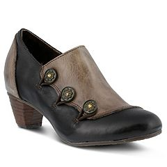 L'Artiste by Spring Step Greentea Women's Ankle Boots