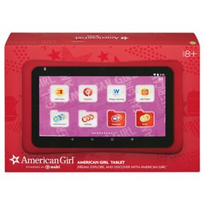 American Girl Tablet Powered by nabi