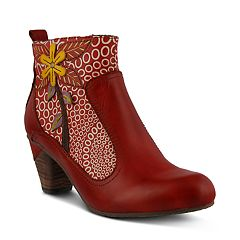 L'Artiste by Spring Step Dramatic Women's Ankle Boots