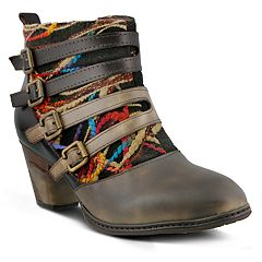 L'Artiste by Spring Step Redding Women's Ankle Boots