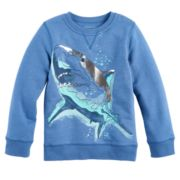 Boys 4-7x SONOMA Goods for Life™ Foiled Shark Pullover Sweatshirt