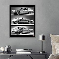 General Motors 1963 Chevrolet Corvette Canvas Wall Art