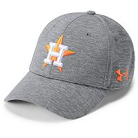 Adult Under Armour Houston Astros Twist Closer Adjustable Cap