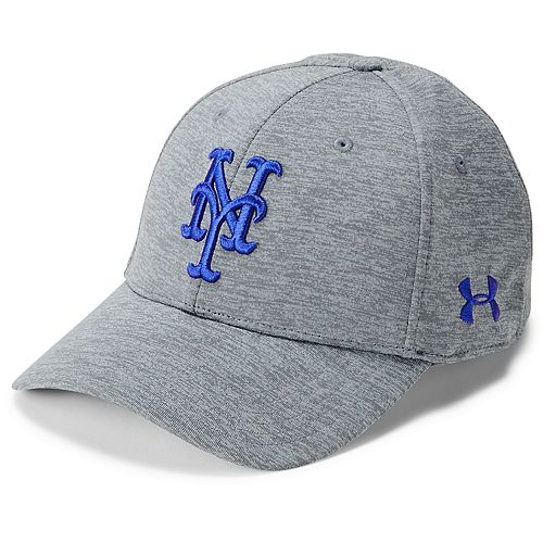 08f8ab59df2 Men s Under Armour New York Mets Closer Adjustable Snapback Cap