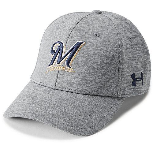 Men's Under Armour Milwaukee Brewers  Snapback Cap