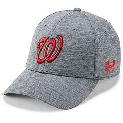 Men's Under Armour Washington Nationals Closer Adjustable Snapback Cap