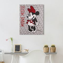 Disney's Minnie Mouse Canvas Wall Art