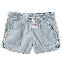 Girls 4-12 OshKosh B'gosh® Denim Dolphin Shorts