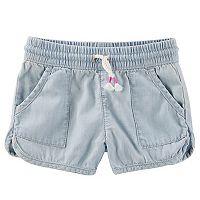 Girls 4-12 OshKosh B'gosh® Denim Dolphin Shorts