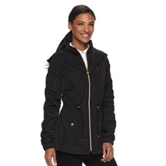 Women's Wildflower Hooded Windbreaker Rain Jacket