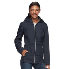 Women's Wildflower Hooded Mixed-Media Jacket