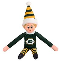 Forever Collectibles Green Bay Packers Team Holiday Elf