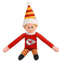 Forever Collectibles Kansas City Chiefs Team Holiday Elf