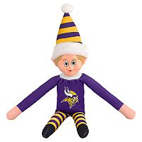Forever Collectibles Minnesota Vikings Team Holiday Elf