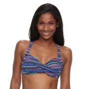 Women's Apt. 9® Twist-Front Underwire Bikini Top
