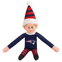 Forever Collectibles New England Patriots Team Holiday Elf