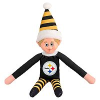 Forever Collectibles Pittsburgh Steelers Team Holiday Elf